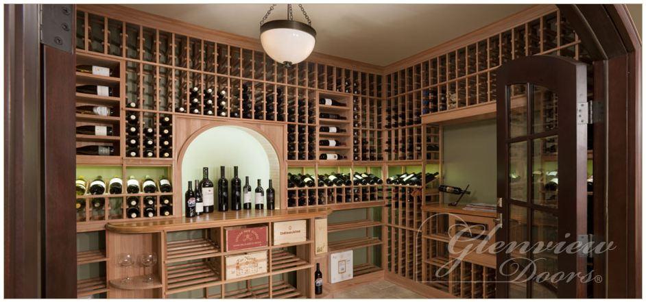 Wine Cellar Doors Danvoy Group LLC Wood Entry Doors NJ NY Custom Doors