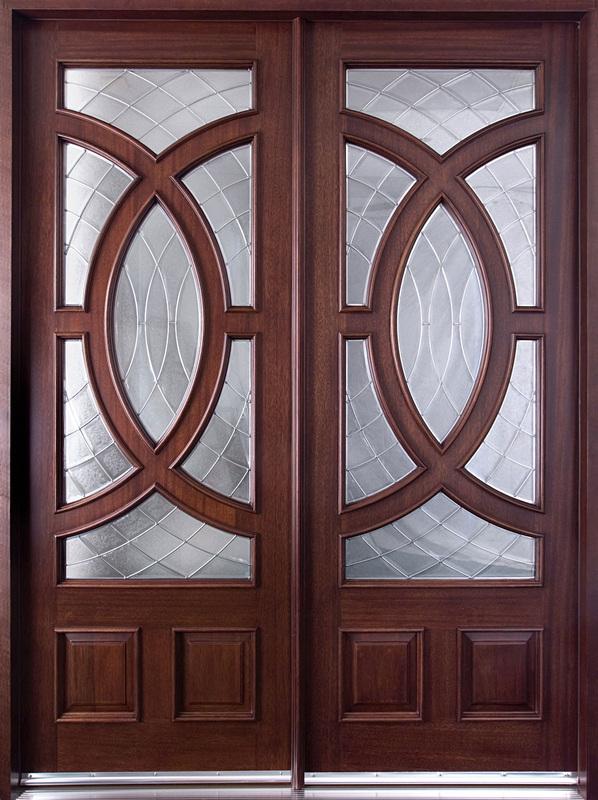 Residential Double Front Doors solid wood front entry doors - glenview doors, inc. | exterior