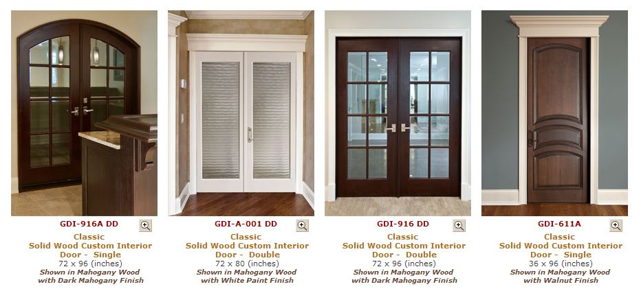 Custom Interior Doors - Danvoy Group LLC | Kitchen Cabinets NJ ...