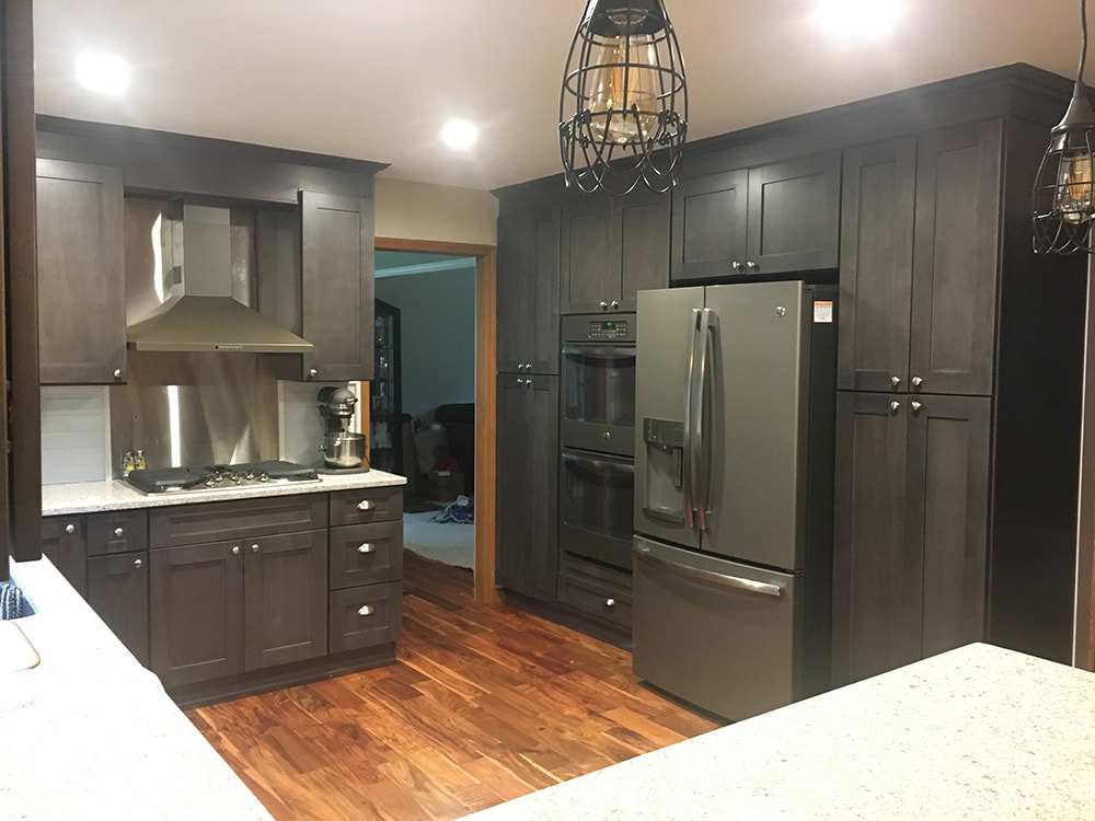 Grey Wood Doors Interior